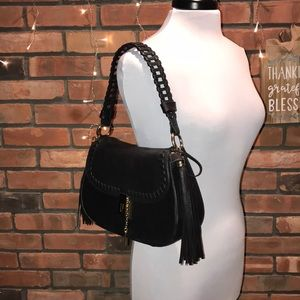 🖤🍁Leather Shoulder Bag Tassels Lionel
